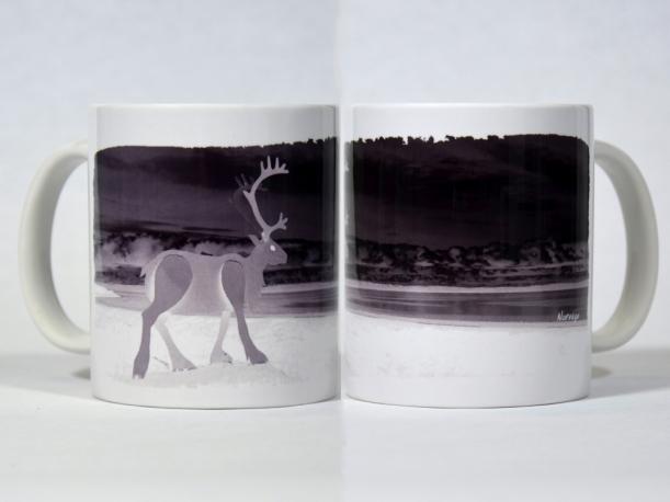 Mug Le Renne blanc par Esprit Combi - 14,00 € product_reduction_percent