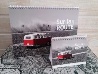 Calendrier 2017 Sur la Route