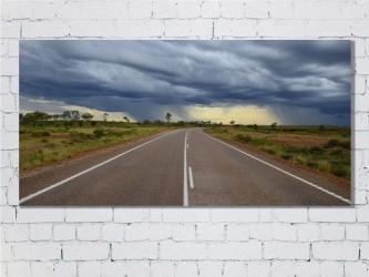 Route, Australie - Toile 120x60