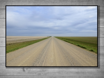 Route, Canada - Tirage 30x45