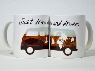 Mug Just drive and dream