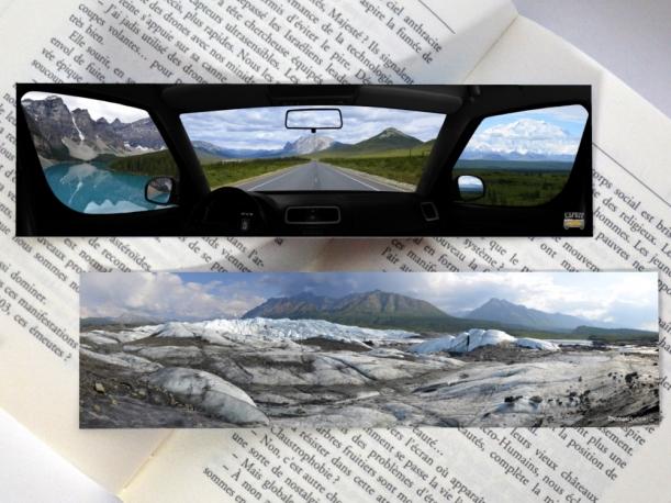 Marque-pages Canada-Alaska par Esprit Combi - 2,00 €