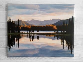 Lac, Canada - Toile 40x50