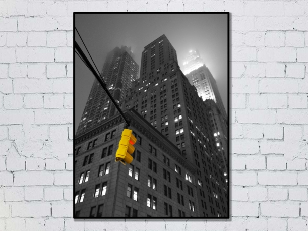 New York, États-Unis - Tirage 50x70 par Esprit Combi - 30,00 €