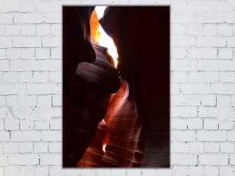 Antelope canyon - Aluminium 20x30 par Esprit Combi - 38,00 € -20%