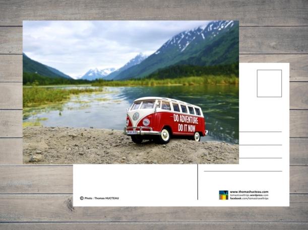 Carte postale Pulso en Alaska par Esprit Combi - 2,00 €
