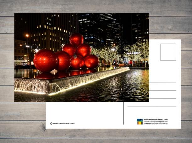 Carte postale Joyeux Noël par Esprit Combi - 2,00 €