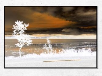 Coucher de Soleil, Norvège - Tirages 50x70 par Esprit Combi - 30,00 € -17%