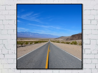 Death Valley, United States - Photo Print 50x50