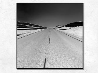 La Route, Norvège - Tirages 50x50
